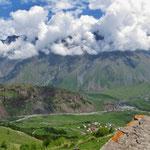Ausflug nach Kazbegi.