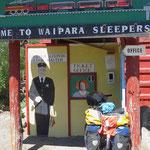 Das zweite Mal in Waipara auf dem Zeltplatz.