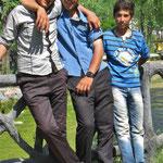 Im Stadtpark von Bostanabad.