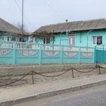 Die Häuser werden in Moldawien farbig.