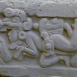 Wunderschön, die Stuckaturen, auch nach 2000 Jahren.