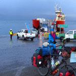 Wir fahren mit dem Versorgungsschiff von Puerto Williams zurück nach Punta Arenas.