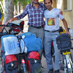 Unser Warmshowers-Freund Akbar hat uns in Marand sehr geholfen.