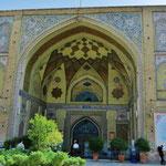 Die Imam Khomeini-Moschee in der Nähe des Basars.