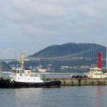 Brücke von Kyushu nach Honshu.