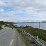 Entlang dem Porsangerfjord.
