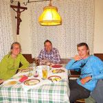 Gemütlicher Abend mit Franzi und Rike