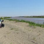 Zur usbekischen Grenze sind es nur noch ein paar Kilometer.