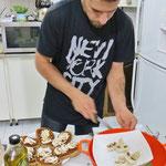 Küchenchef Shayan verwöhnt uns!