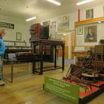 Im Minenmuseum von Zeehan.