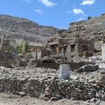 Die Bewohner von Ladakh leben hier in sehr bescheidenen Verhältnissen.