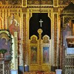 Ortodoxe Kirche mit sehr alten Fresken.