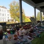 Farbige Glassouveniers snd typisch für Ljubliana