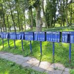 Polnische Briefkästen.