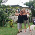 Keila und Terry, unsere lieben Gastgeber.