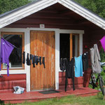 Waschtag in Tromsö.