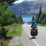 Wir erreichen den Lake Tekapo.