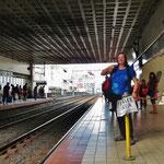 Getrennte Wagen für Frauen und Männer bei der Metro.