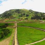 Ingapirca ist die bedeutendste Inka-Fundstätte Ecuadors (50 km nördlich von Azogues).