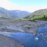 Die meisten Flüsse dürfen sich viel Platz nehmen.
