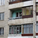 Unsere Velos sind auf dem Balkon sicher.