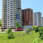 In jeder Ortschaft an der türkischen Schwarzmeerküste werden neue Quartiere mit Hochhäusern aus dem Boden gestampft.
