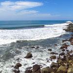 Am Pazifik bei Puerto la Libertad.