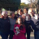 Wir werden von Marcela, Maria, Samuel und den Töchtern Maite und Cathlin herzlich verabschiedet.