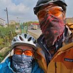 Gegen Xining zu wird der Smog und Staub fast unerträglich.