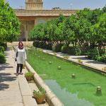 Zandiyeh Palastgarten in Shiraz.