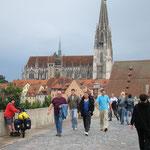 wir sind in Regensburg!