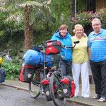 Bea mit Bruder Rolf und Schwägerin Eveline