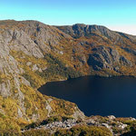 Kratersee im Cradle Mountain National Park.