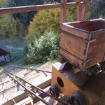 Besichtigung einer alten Gold- und Silbermine bei Banska Stiavnica.