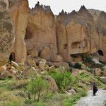 Die ersten Felsenwohnungen entstanden vermutlich schon vor mehr als 6000 Jahren.