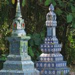 Urnengräber werden oft auch auf privatem Grund errichtet.
