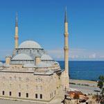 Die Sarayburnu Camii in Bulancak fast 4500 Gläubige. (Foto Son Resimler)