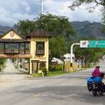 In Vilcabamba angekommen.