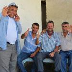 Auch in Usbekistan sind wir immer willkommene Gäste.