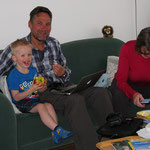 Mit Enkel Guillermo haben wir viel Spass.
