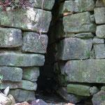 Die Mayas haben in Palenque auch Gewässer kanalisiert.