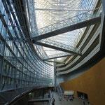 Das internationale Tagungszentrum ist ein faszinierender Bau.