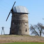 Sogar Windmühlen gibt es.