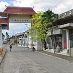 Eingang zum chinesischen Friedhof in Manila.
