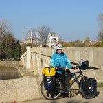 Edirne, an der Brücke über die Dunça