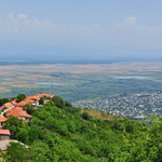 Ausflug nach Sighnaghi im Osten von Tiflis, einer grossen Weinbauregion.