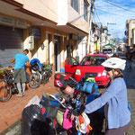 Bereit zur Abfahrt in Chunchi.