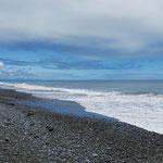Wieder am Meer, nahe Greymouth.