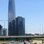 Das höchste Gebäude von Südamerika steht in Santiago de Chile.
