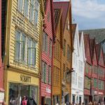 Bryggen, Wahrzeichen von Bergen.